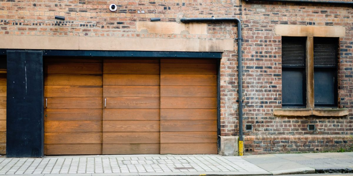 prix porte garage bois