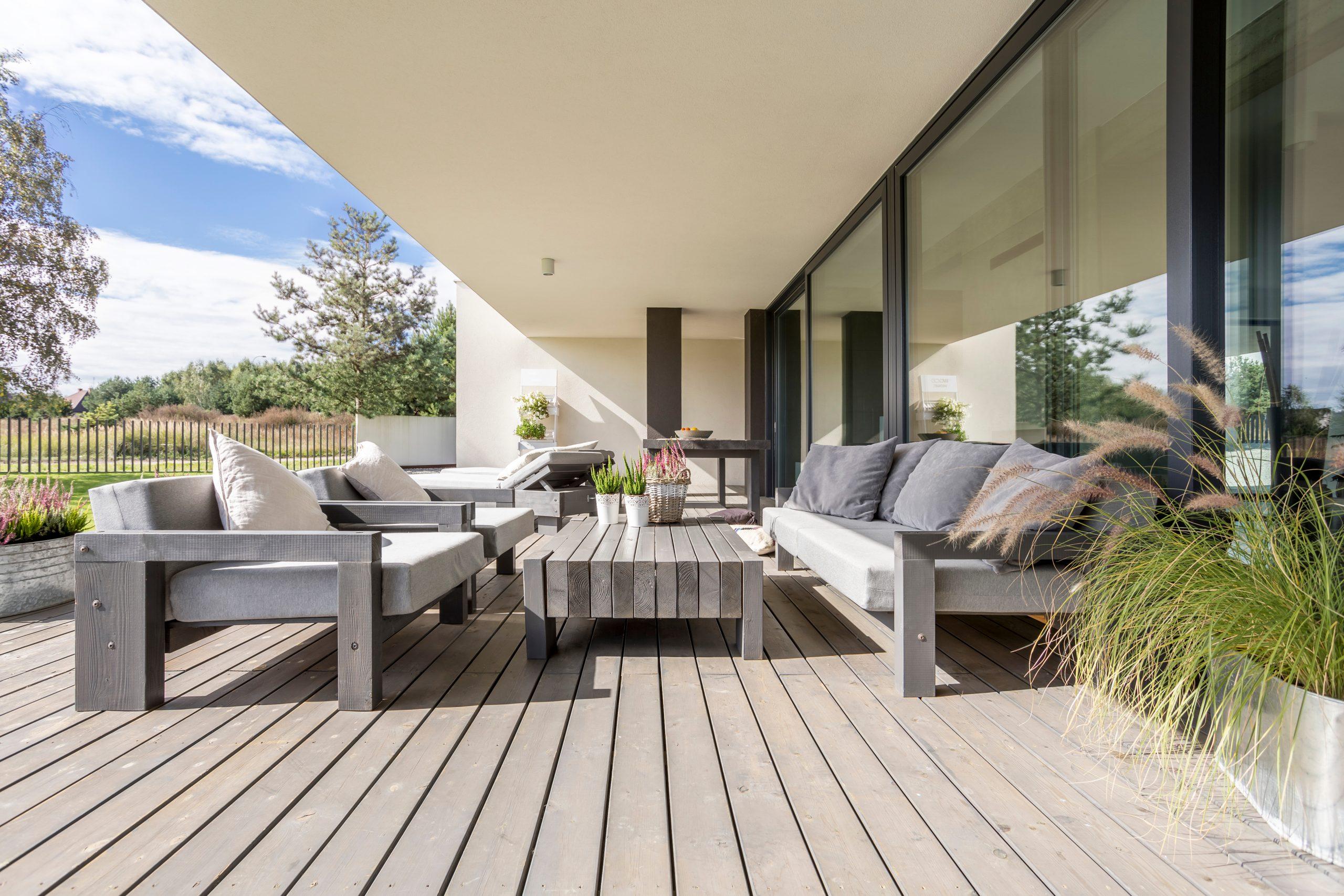 matériaux terrasse