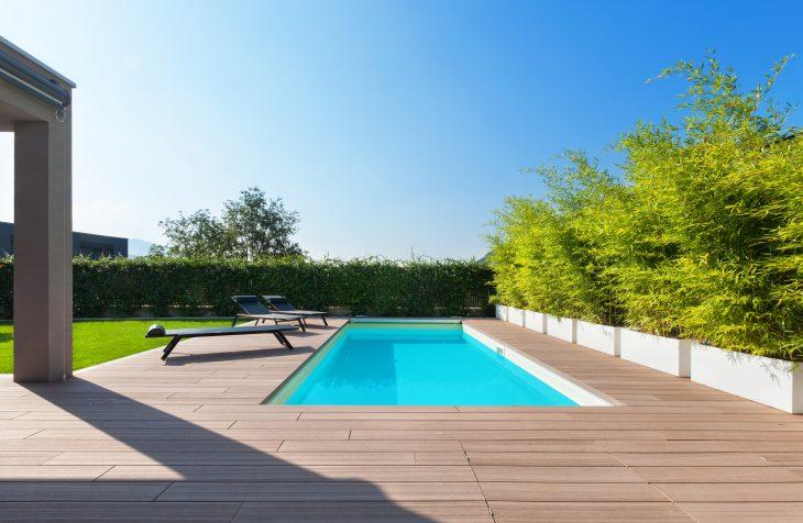 Prix de la construction d'une piscine