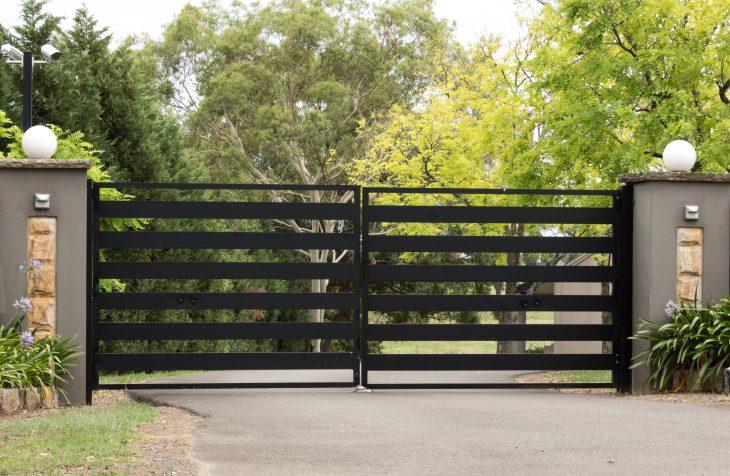 portail en acier